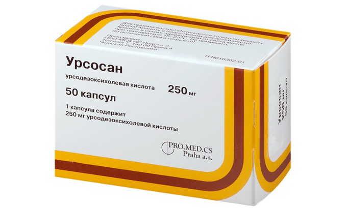 Желчегонные препараты, например Урсосан, при панкреатите с камнями могут назначаться только при функционирующем желчном пузыре