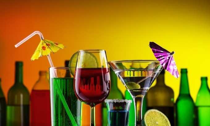 После операции пациент должен отказаться от употребления алкогольных напитков