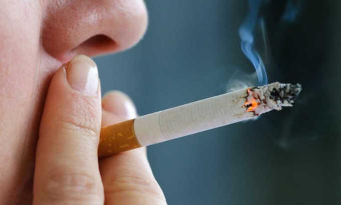 Курение способствует появлению заболевания