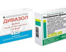 Совместимость дибазола и папаверина
