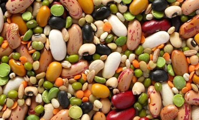 При панкреатите запрещено употреблять бобовые