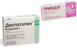 Дюспаталин или Тримедат: что лучше
