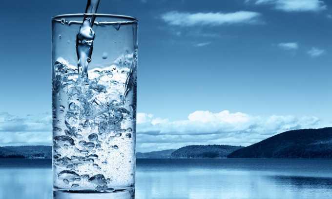 Рекомендуется уменьшить выпитую жидкость