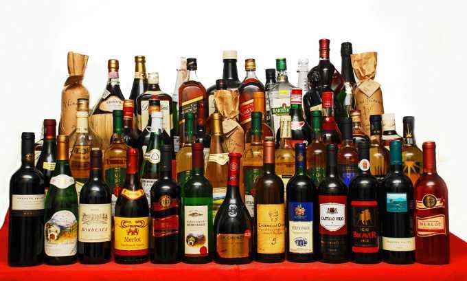 Обострение часто возникает в результате употребления алкоголя