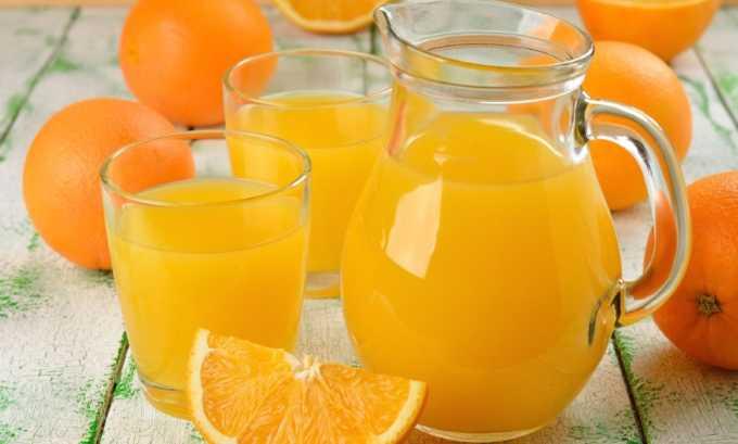 При панкреатите употребление апельсинового, лимонного и грейпфрутового сока запрещено