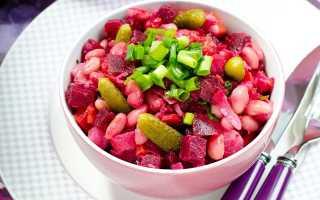 Рецепт винегрета при панкреатите