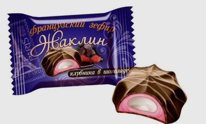От зефира в шоколаде лучше отказаться, чтобы не нагружать поджелудочную железу