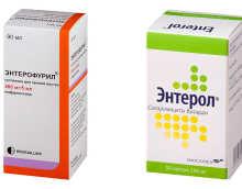 Сравнение Энтерола и Энтерофурила