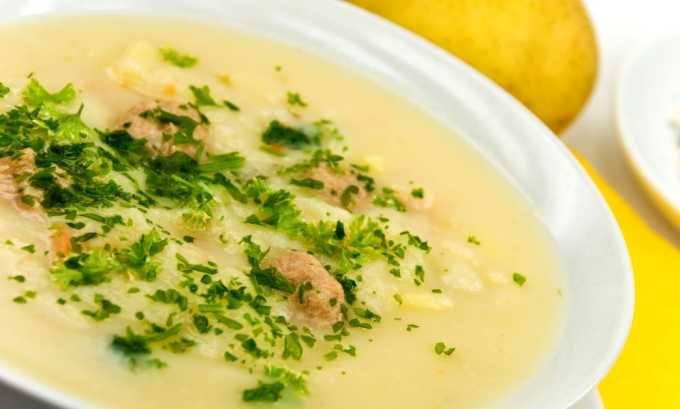 Можно есть суп-пюре