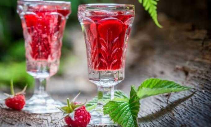 Малиновый сок можно пить только в хронической стадии болезни