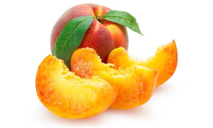 Персик можно употреблять только в спелом виде