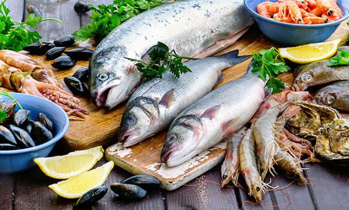 Разрешена к употреблению рыба