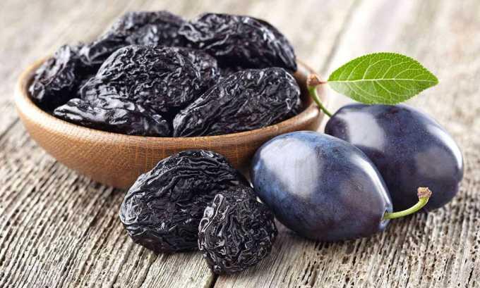 Чернослив разрешается при панкреатите