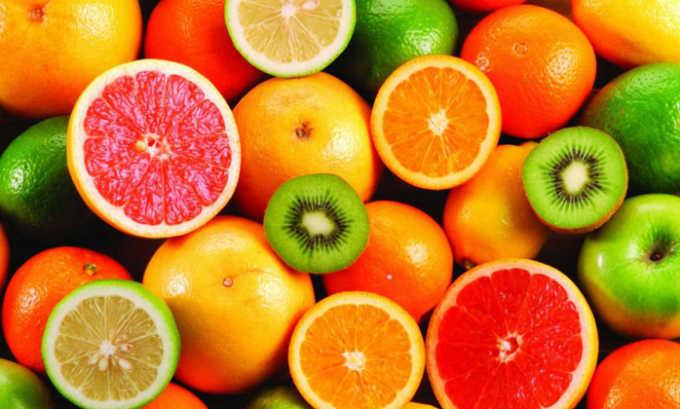 Фрукты также исключаются, поскольку для их переваривания необходимо больше ферментативных веществ