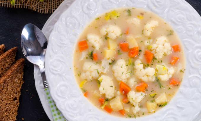 Можно кушать овощной суп