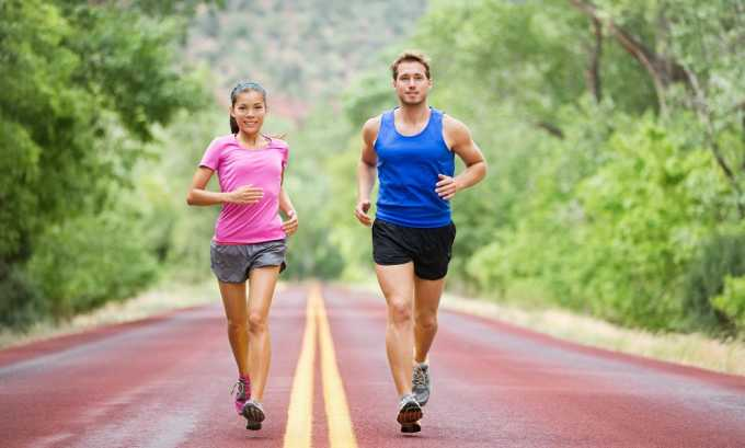 Бег при панкреатите запрещен
