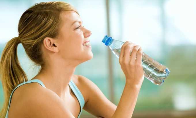 Необходим усиленный питьевой режим (пить следует Боржоми не менее 2 л в день)