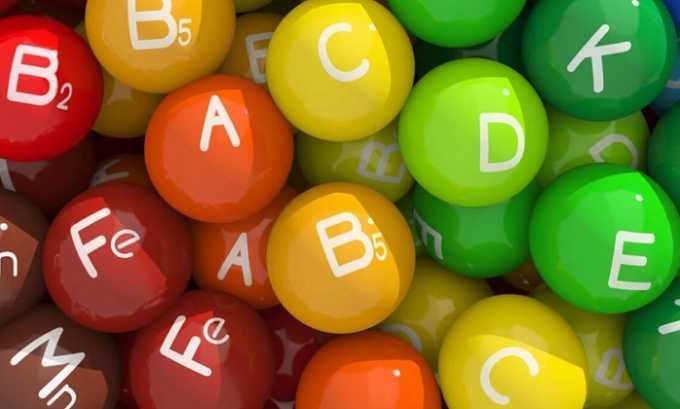 Обязателен курс витаминотерапии, включающий в себя витамины групп В, Е и С