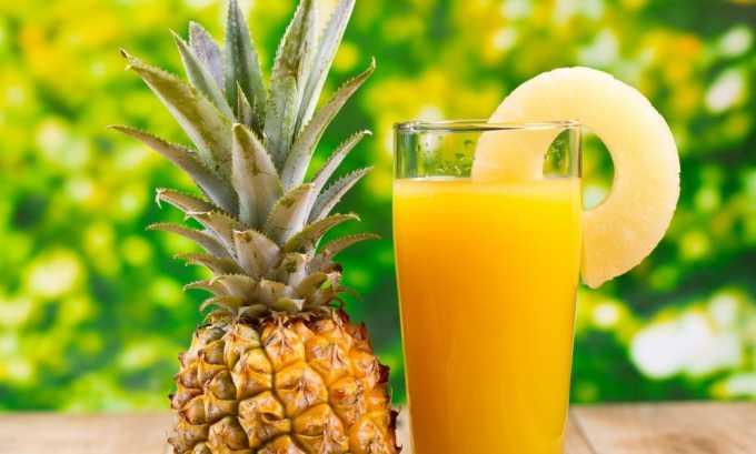 Ананасовый сок специалисты не рекомендуют пить при панкреатите как в острой, так и в хронической форме