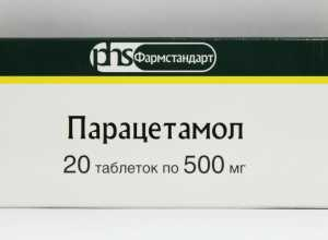 Как принимают Парацетамол при панкреатите?