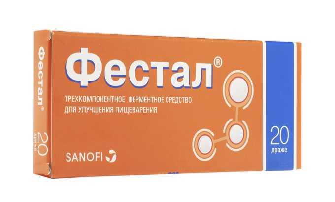 Фестал используется для лечения панкреатита