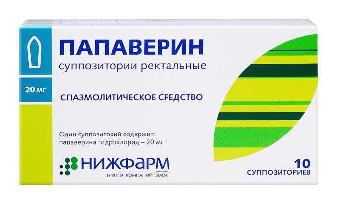 Папаверин относится к спазмолитикам, но он способен избавить от болевого синдрома, вызванного спазмом