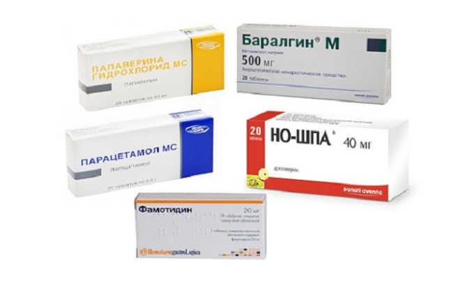 Анальгетики и спазмолитики помогают облегчить болевые ощущения при панкреатите