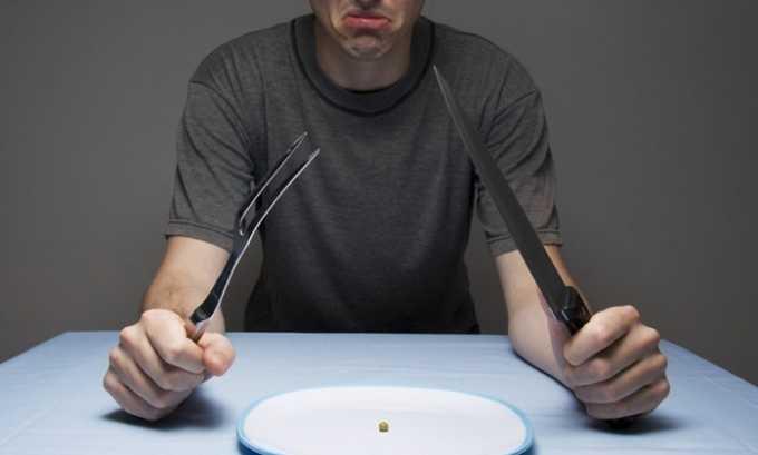 Также человек, страдающий от панкреатита теряет аппетит