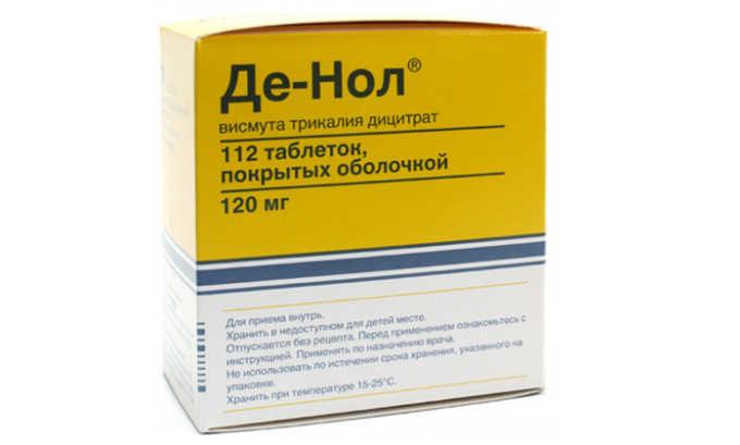 Де-Нол препарат с противобактериальным эффектом