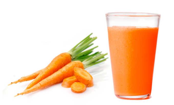 Также будет полезен сок моркови для больных