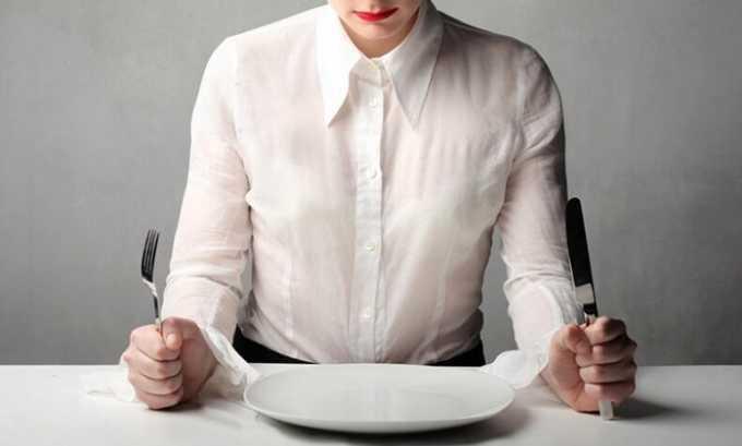 Порой пациенту и вовсе приходится отказываться от еды на некоторое время
