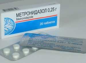 Таблетки Метронидазол при панкреатите