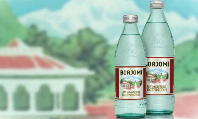Дети могут пить минеральную щелочную воду — Боржоми