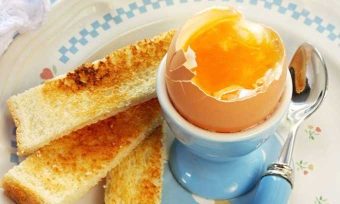 Яйца для питания ребенка нужно отваривать всмятку