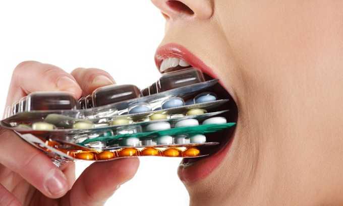 Использование лекарств в неправильной дозировке ведёт к осложнениям