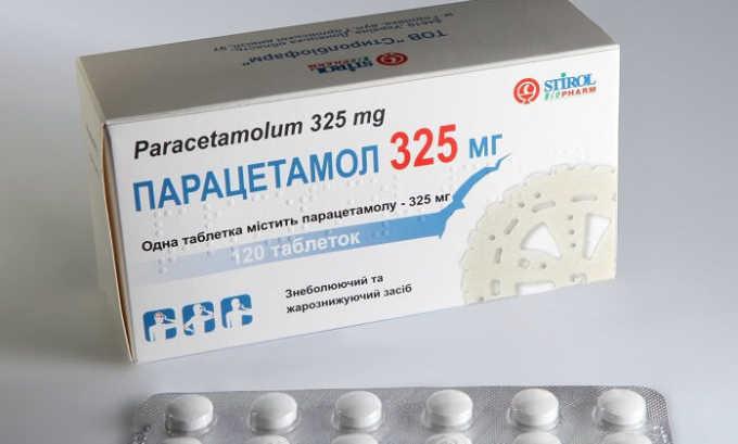 В домашних условиях для купирования боли в животе можно использовать препарат Парацетамол