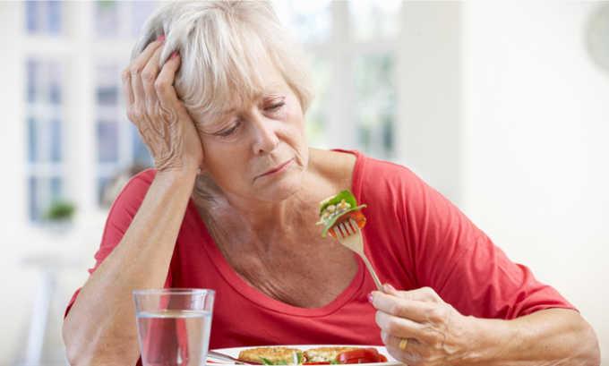 Снижение аппетита является признаком панкреатита