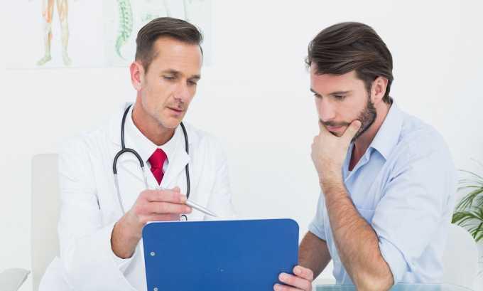 При обострении без помощи врача больному не обойтись