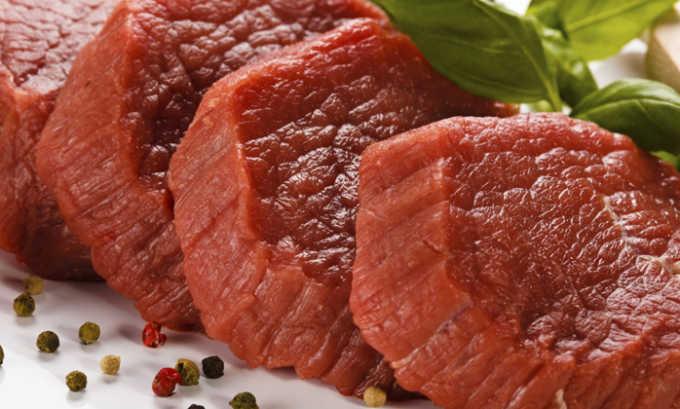 Постное мясо входит в состав блюда