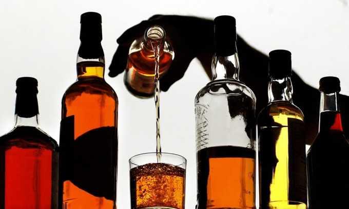При панкреатите полностью исключается алкоголь
