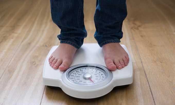 Потеря веса может быть из-за нарушения всасывания питательных веществ