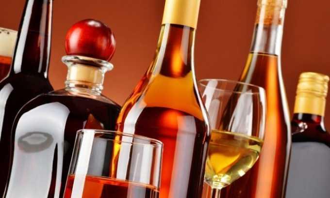 Больному полностью запрещен алкоголь