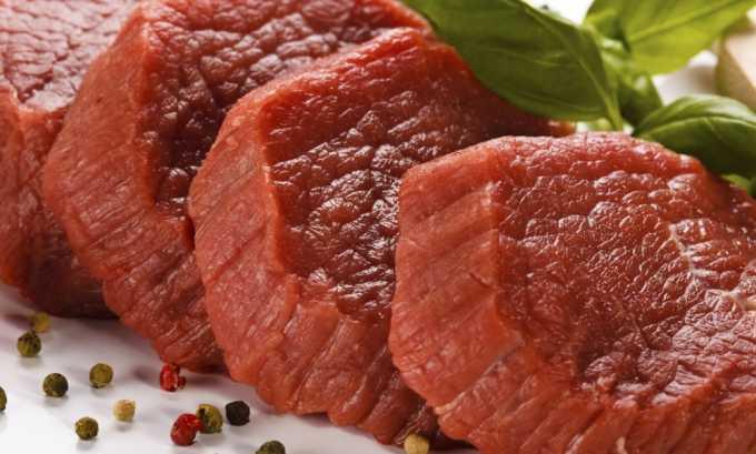 Мясо можно есть только нежирное