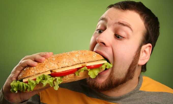 Вредные пищевые привычки могут спровоцировать обострение панкреатита