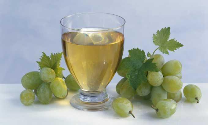Виноградный сок можно включать в рацион только при хорошем самочувствии больных панкреатитом