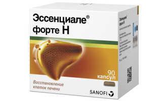 Особенности применения Эссенциале при панкреатите