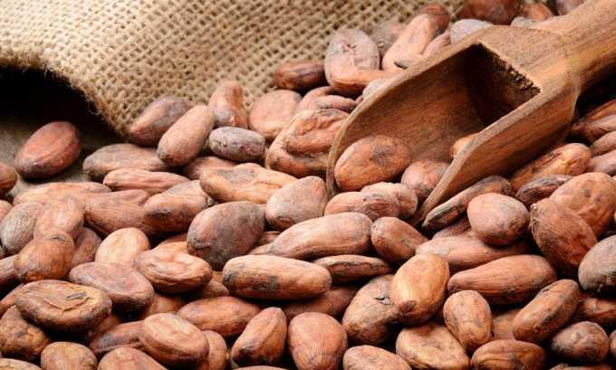 Главными компонентами в составе натурального качественного лакомства являются какао-бобы