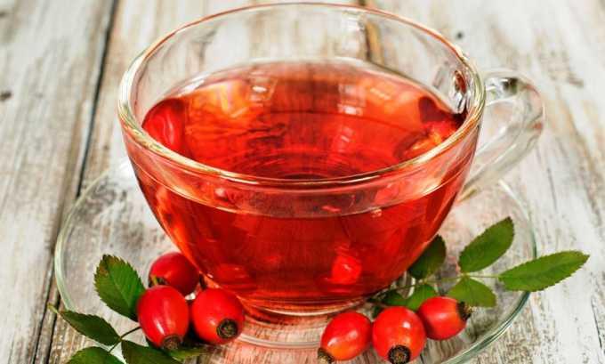 На обед при панкреатите можно выпить отвар шиповника