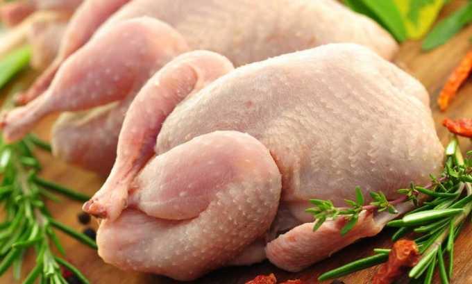 Через 6 дней на обед можно куриное мясо