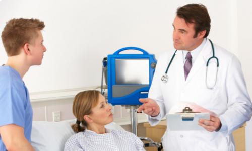 После госпитализации будет поставлен точный диагноз и прописан лечебный курс